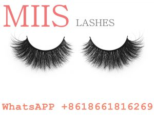 100% real mink 3d false eye lashes