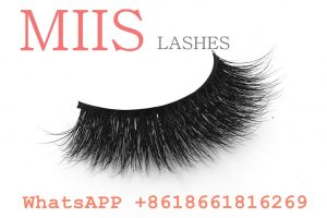double layer mink fur strip lashes